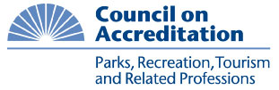 Accredited by Council on Accreditation of Parks, Recreation, Tourism and Related Professions (COAPRT)